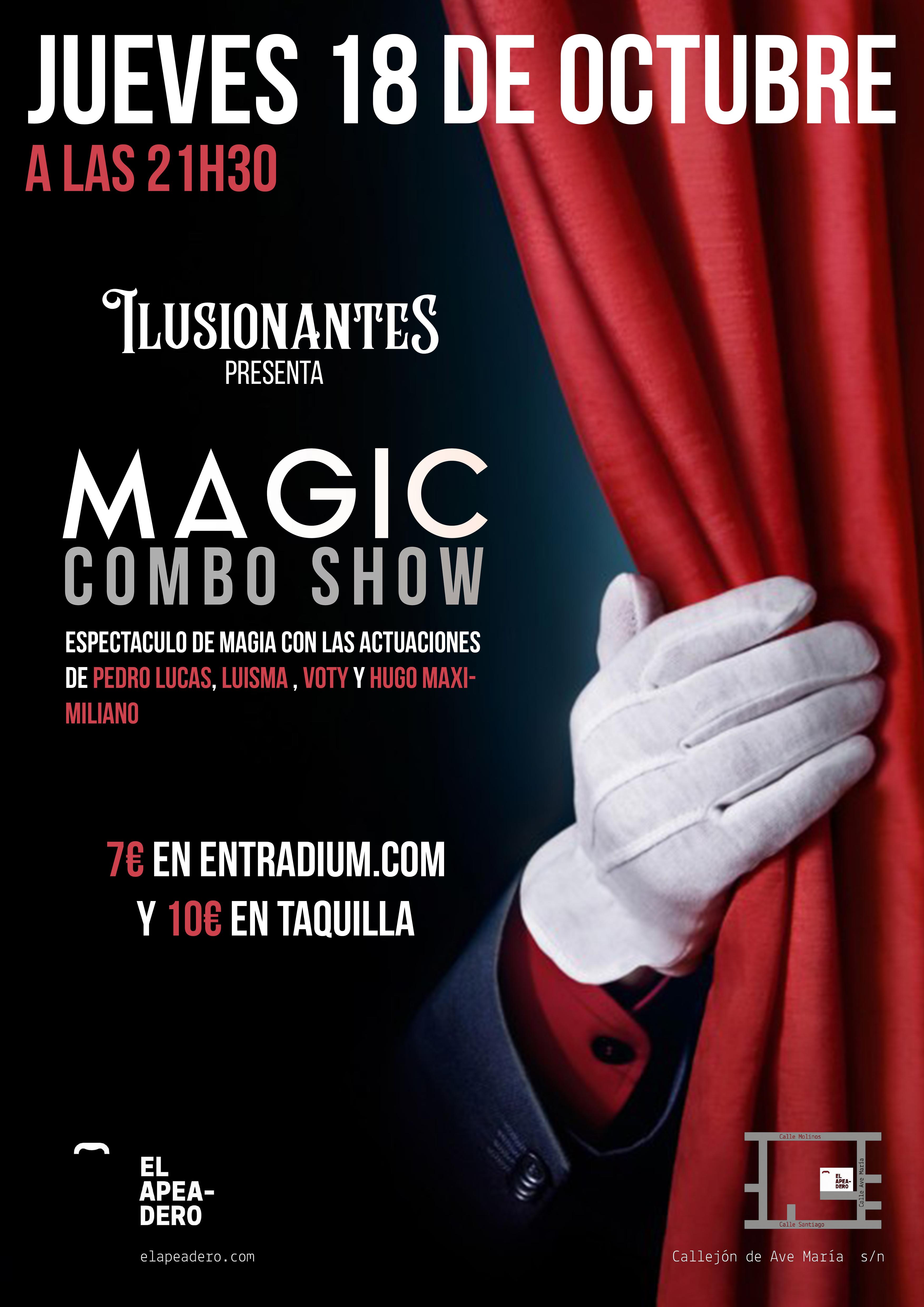 Magic Combo Show - Octubre 2018 - Magic Combo Show - Octubre 2018
